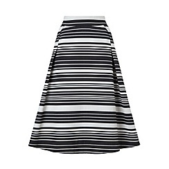 Miss Selfridge - Stripe midi skirt