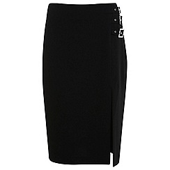 Miss Selfridge - Buckle pencil skirt