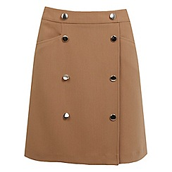 Miss Selfridge - Button skirt