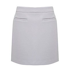 Miss Selfridge - Bonded crepe mini skirt