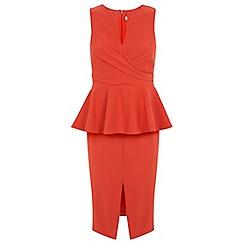 Miss Selfridge - Peplum detail dress