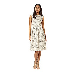 Miss Selfridge - Jacquard midi prom dress