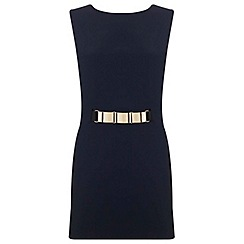 Miss Selfridge - Gold belt playsuit