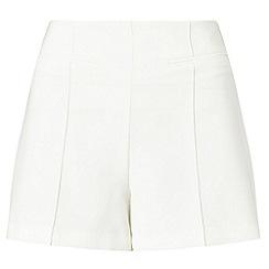 Miss Selfridge - Ivory tailored short