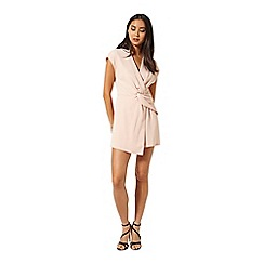 Miss Selfridge - Blush drape playsuit