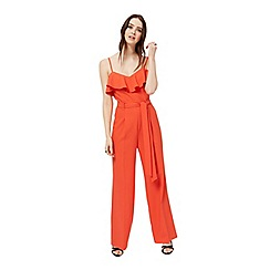 Miss Selfridge - Ruffle detail jumpsuit