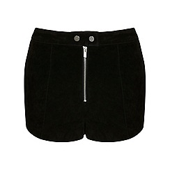 Miss Selfridge - Suede shorts