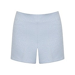 Miss Selfridge - Pin stitch jacquard short