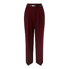 Miss Selfridge - High waisted belted trouser