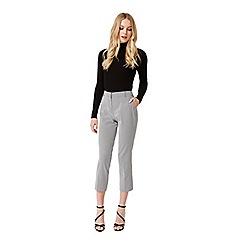 Miss Selfridge - Mono geo jacquard trouser