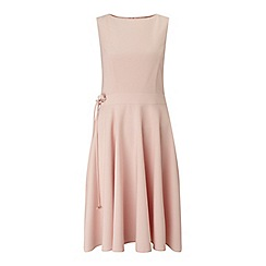 Miss Selfridge - Nude skater midi dress