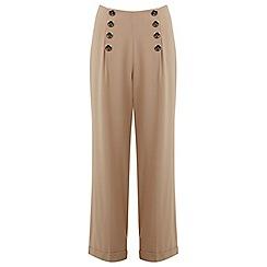 Miss Selfridge - High waist button trouser