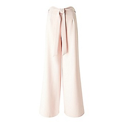 Miss Selfridge - Nude wide leg trouser