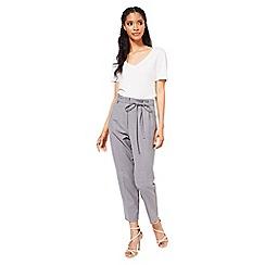 Miss Selfridge - Grey tailored trousers