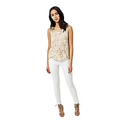Miss Selfridge - Embellished sequin shell top