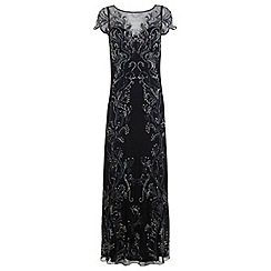 Miss Selfridge - Leafy maxi dress