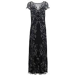 Miss Selfridge - Leafy maxi dress