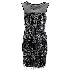 Miss Selfridge - Shelly fringe dress