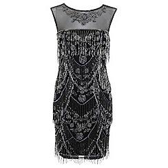 Miss Selfridge - Shelly fringe dress