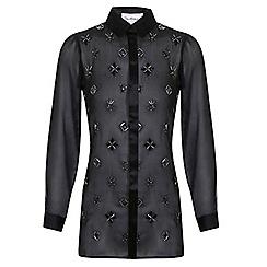Miss Selfridge - Embellished shirt