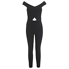 Miss Selfridge - Bardot cut out jumpsuit