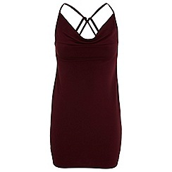 Miss Selfridge - Slinky cowl cami dress