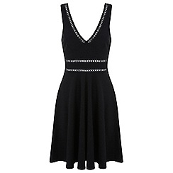 Miss Selfridge - Black skater dress