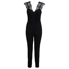Miss Selfridge - Lace strap jumpsuit