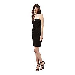 Miss Selfridge - Black bandeau dress
