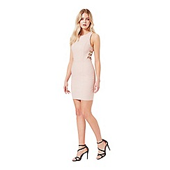 Miss Selfridge - Pink d-ring bodycon dress