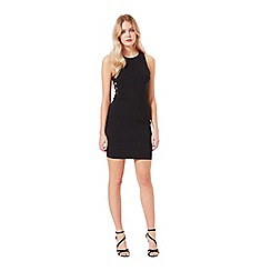 Miss Selfridge - Black d-ring bodycon dress