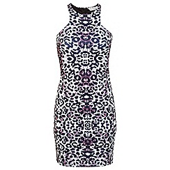Miss Selfridge - Animal print bodycon dress