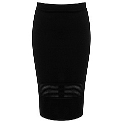 Miss Selfridge - Elastic trim pencil skirt