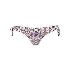 Miss Selfridge - Paisley tie side knicker