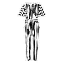 Miss Selfridge - Petites angel sleeve jumpsuit