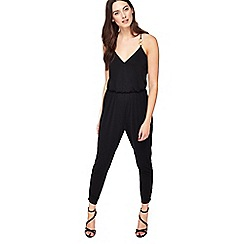 Miss Selfridge - Petite ring detail jumpsuit