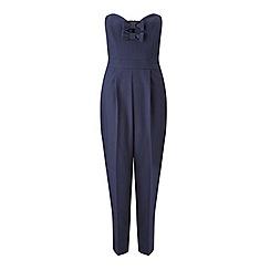 Miss Selfridge - Petites bow bandeau jumpsuit