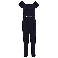 Miss Selfridge - Petites frill bardot jumpsuit