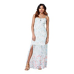Miss Selfridge - Petites floral maxi dress