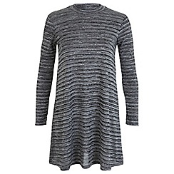Miss Selfridge - Petites grey swing dress