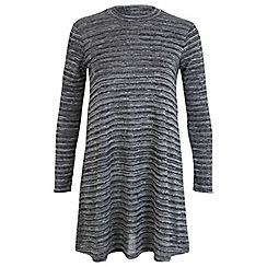 Miss Selfridge - Petites grey swing dress