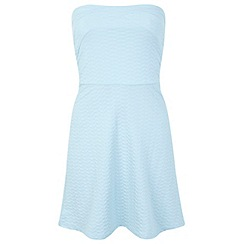 Miss Selfridge - Petite bandeau skater dress
