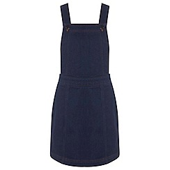 Miss Selfridge - Petites indigo pinny dress