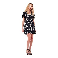 Miss Selfridge - Petites blossom wrap dress