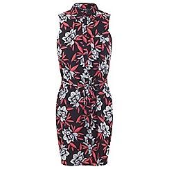 Miss Selfridge - Petites floral shirt dress
