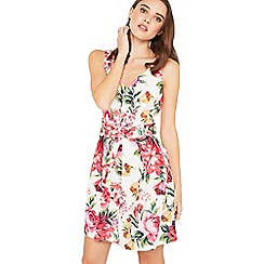 Miss Selfridge - Petite floral prom dress