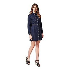 Miss Selfridge - Petites denim dress