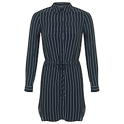 Miss Selfridge - Petites pinstripe shirt dress