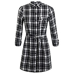 Miss Selfridge - Petites check shirt dress