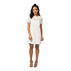 Miss Selfridge - Petites cutwork tea dress